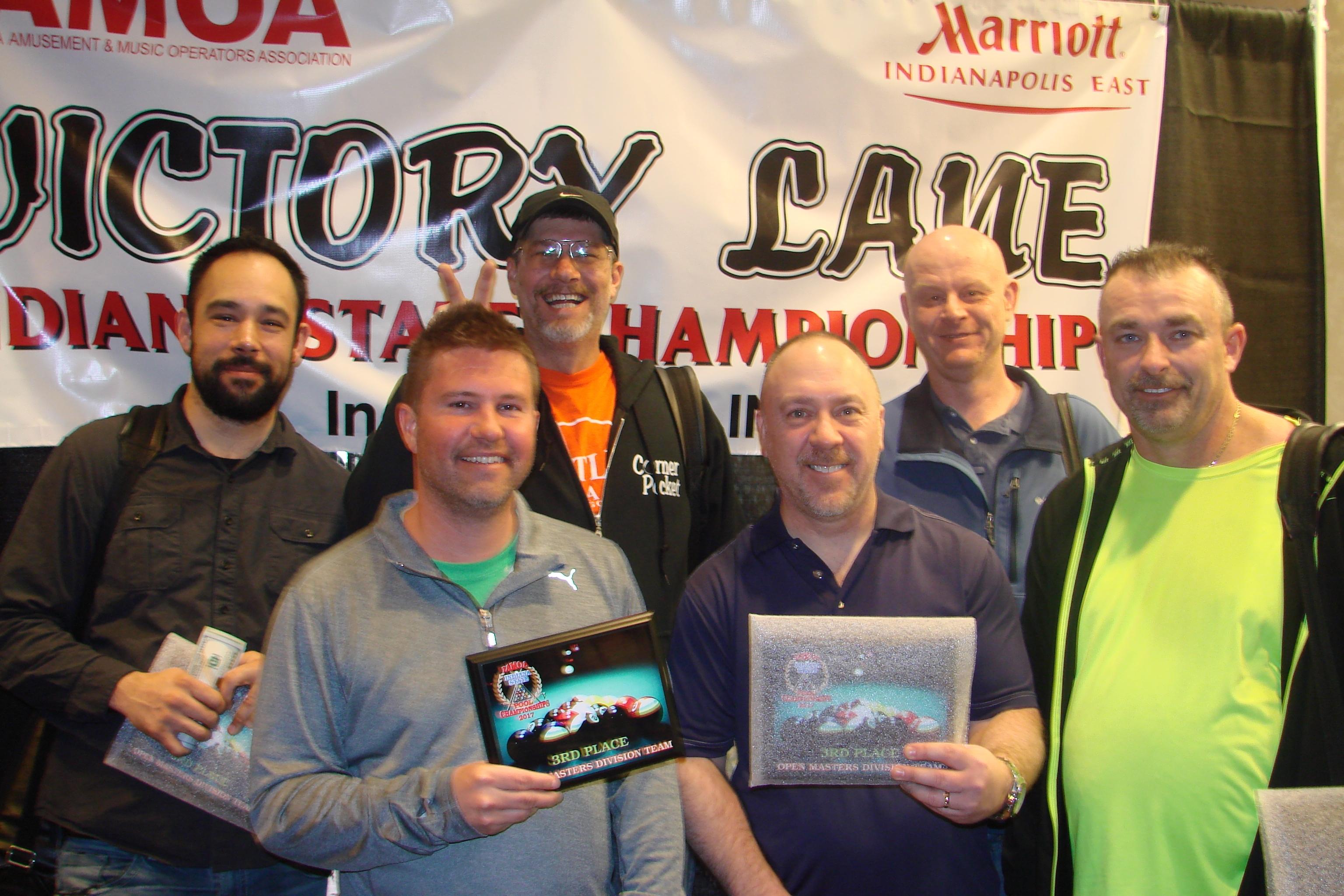 Men Masters Team_3rd_Steam Rollers